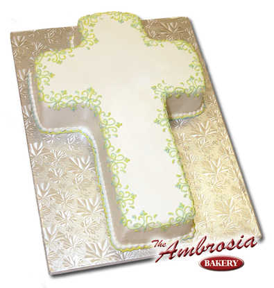 Fondant Cross Cut-Out