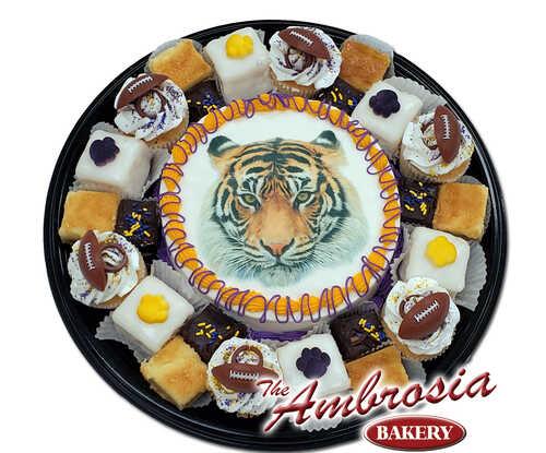 Large Tiger Dessert Tray