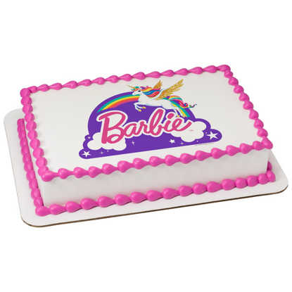 Barbie™ Dreamtopia - Just Believe PhotoCake® Image