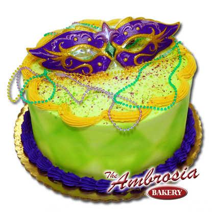 Mardi Gras Cakes