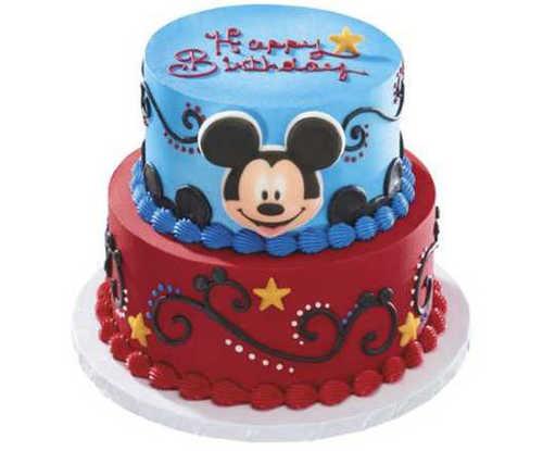Disneys Mickey Mouse Stars 2 Tier Cake