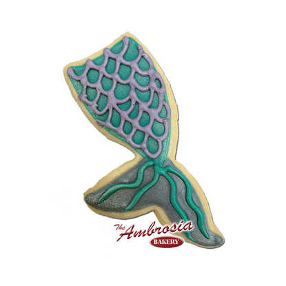 Mermaid Tale Decorated Cookie