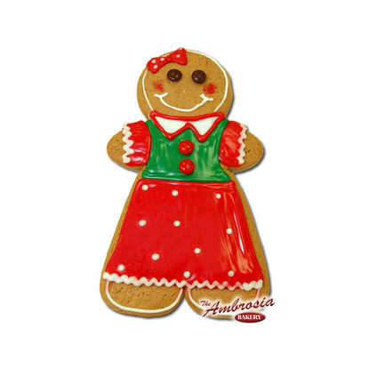 "Large Gingerbread ""Girl"" Cookie!"