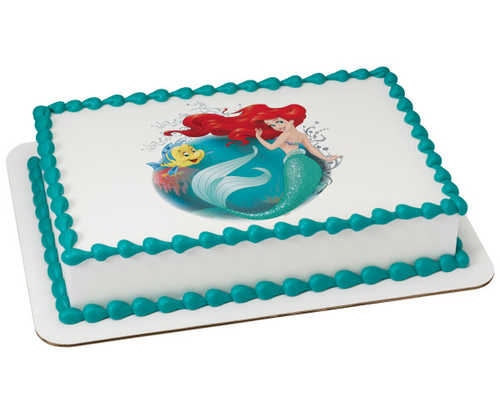 Disney Princess The Little Mermaid Make A Splash PhotoCake®