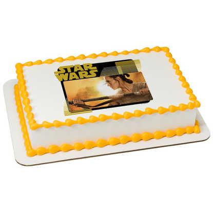 Disney - Star Wars™: The Force Awakens Rey PhotoCake® Image