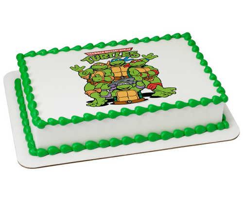 Teenage Mutant Ninja Turtles Out of the Sewer PhotoCake®