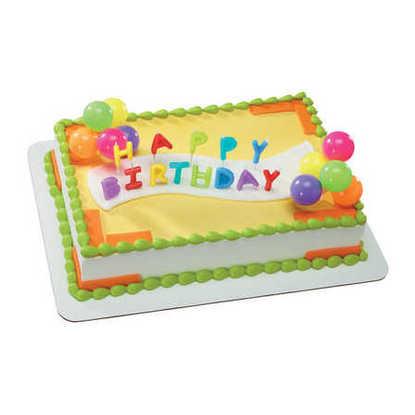Happy Birthday Candles - Neon