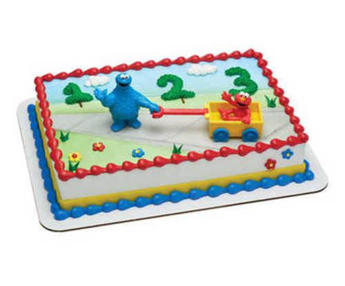 Sesame Street® Let's Play PhotoCake® Edible Image® DecoSet® Background