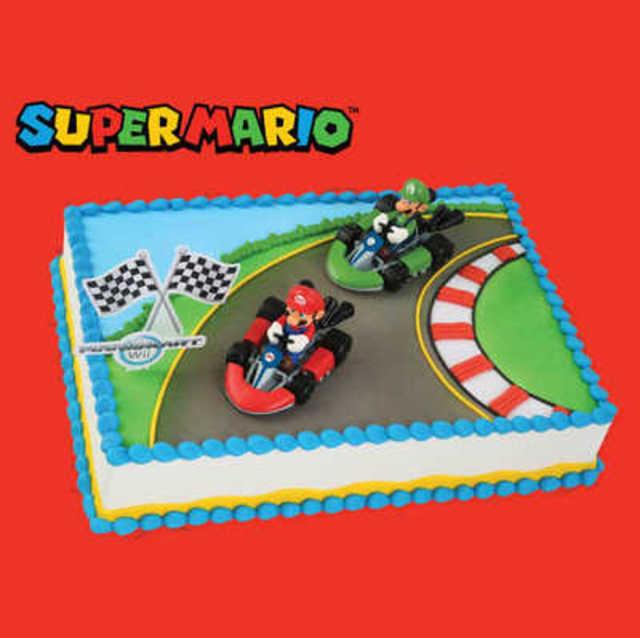 Super Mario Bros Go Karts