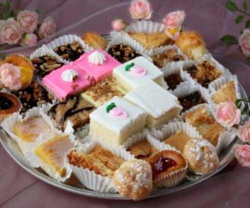 Small Dessert Tray