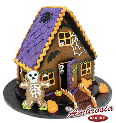 Haunted Gingerbread Mansion