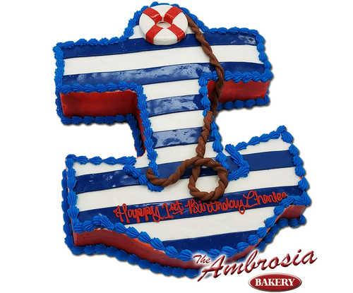 Anchor's Away, 1st Birthday Cake