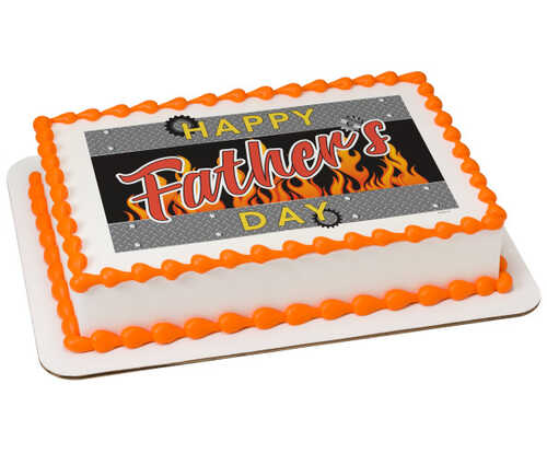 Father's Day Gears PhotoCake® Edible Image®