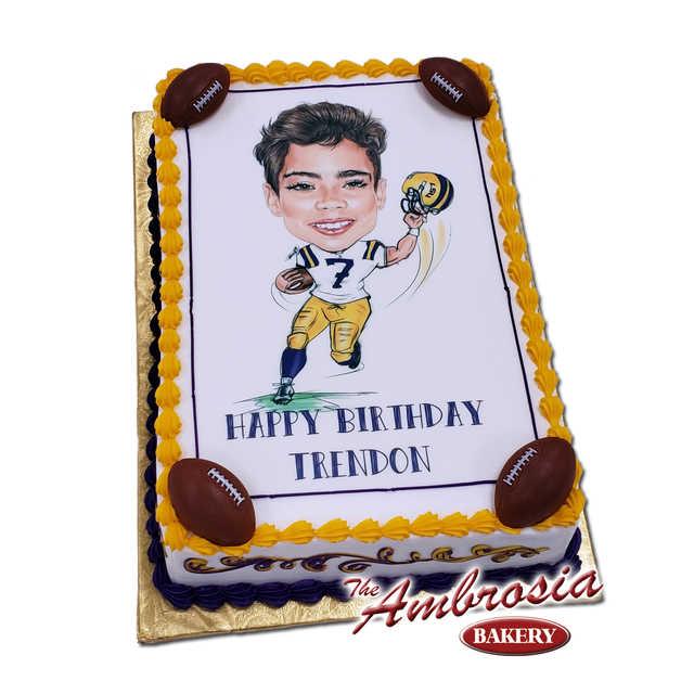 *NEW! - Ambrosia Caricature Cake