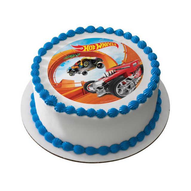 Hot Wheels™ Steer Clear PhotoCake® Edible Image®