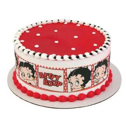 Betty Boop Movie Star PhotoCake® Image Strips