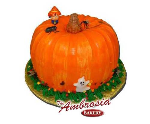 Holiday Sculpted Pumpkin