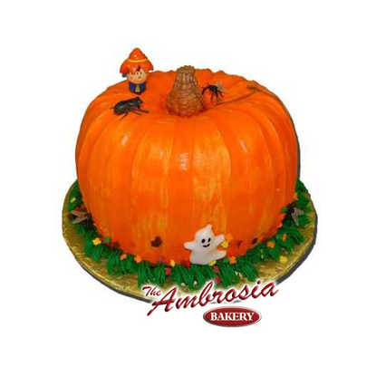 Holiday Sculpted Pumpkin
