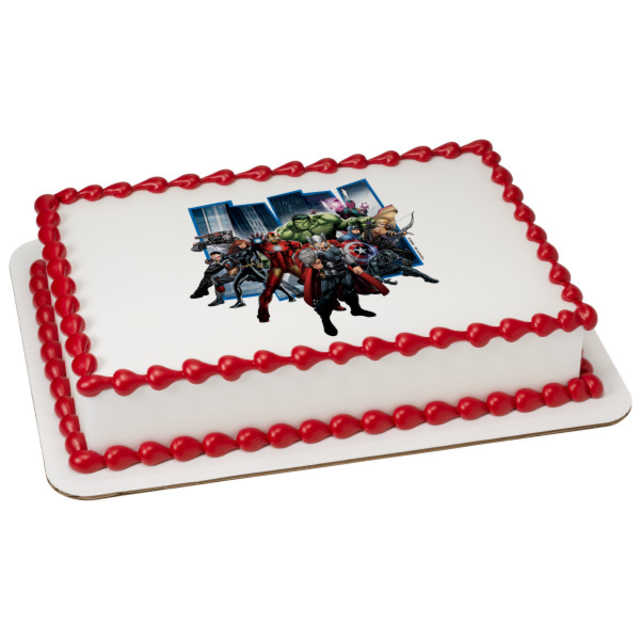 Marvel's Avengers Earth's Mightiest Hero PhotoCake®