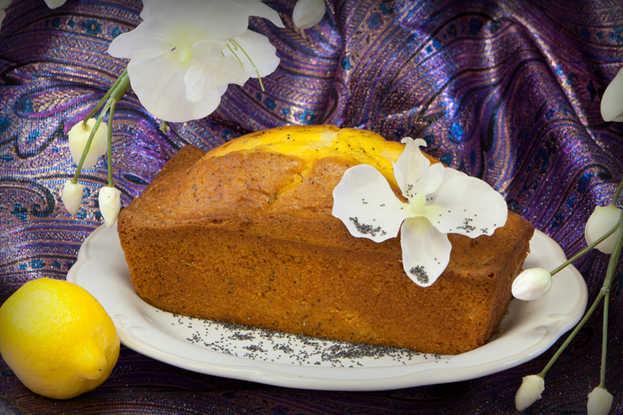 Lemon Poppyseed Pound Cake