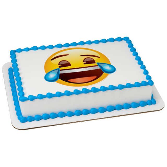 Emoji Tears of Joy PhotoCake® Image