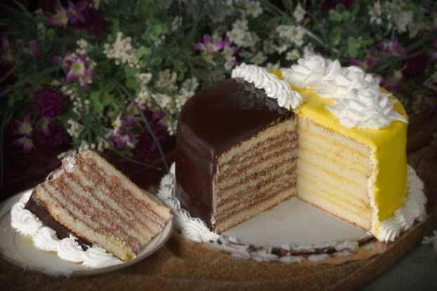 Doberge Cake - Half and Half