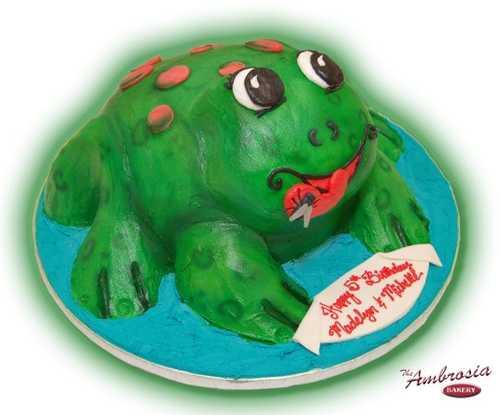 3-D Sculpted Frog