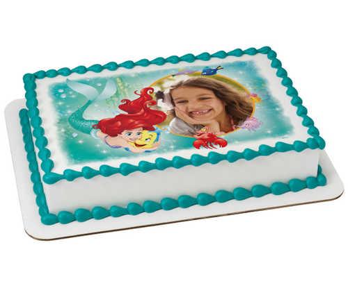 Disney Princess Little Mermaid Ariel Besties PhotoCake® Frame