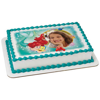 Disney Princess Little Mermaid Ariel Besties PhotoCake® Frame