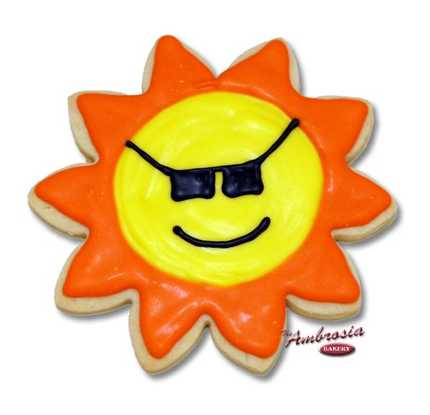 Sun Shades Cut-Out Cookie