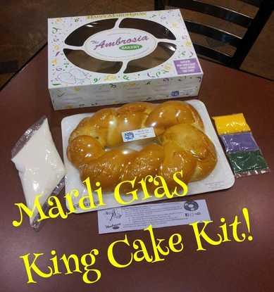 Mardi Gras King Cake Kit - ZULU