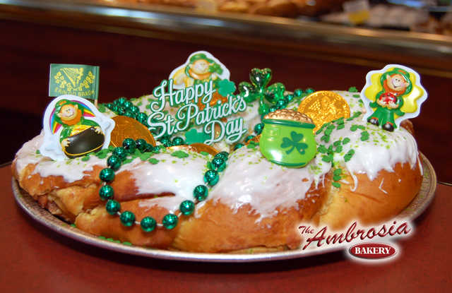 "St. Patrick's ""King Cake"