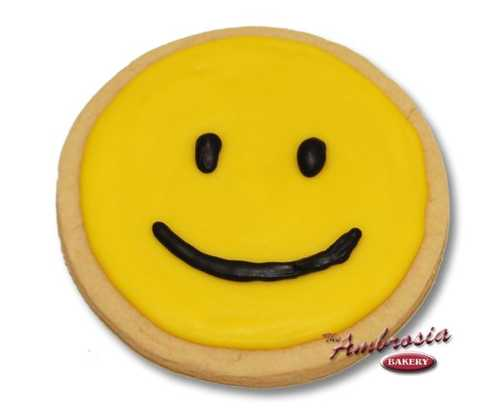 Smiley Cut-Out-Cookie