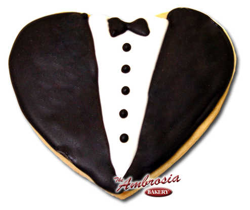 Tuxedo Cut-Out Cookie