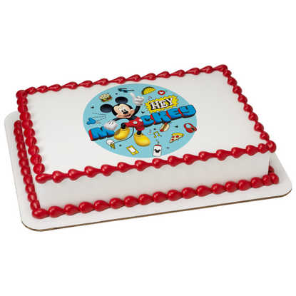 Mickey and the Roadster Racers Hey Mickey! PhotoCake®