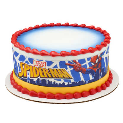 Spider-Man In Action PhotoCake® Image Strips