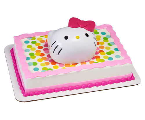 Hello Kitty® Kitty Style Hello Fun PhotoCake® Edible Image® DecoSet® Background