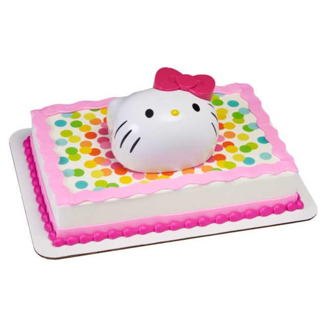 Hello Kitty® Kitty Style Hello Fun PhotoCake® Edible Image® DecoSet® Background