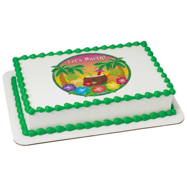 Let's Party PhotoCake® Edible Image®