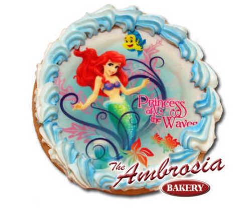 Disney Princess - Ariel Princess of the Waves Edible Image® Cookie