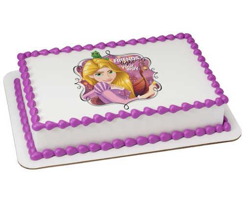 Disney Princess Dream Big, Princess Rapunzel PhotoCake®