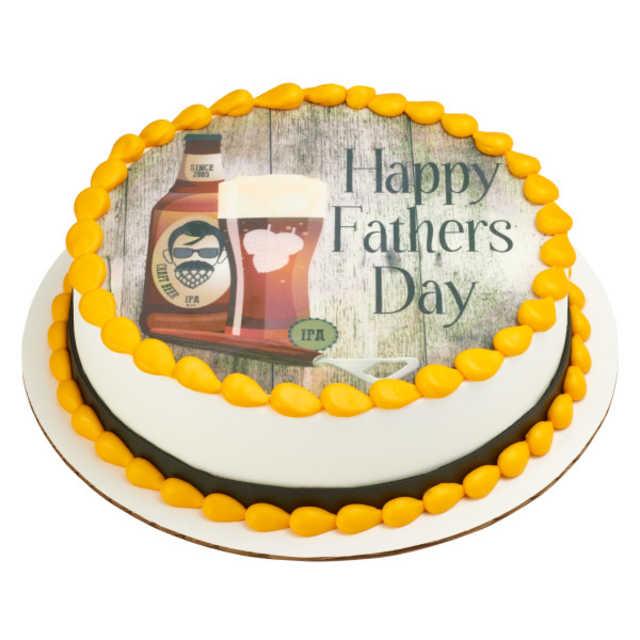 Beard and Hops PhotoCake® Image Cake