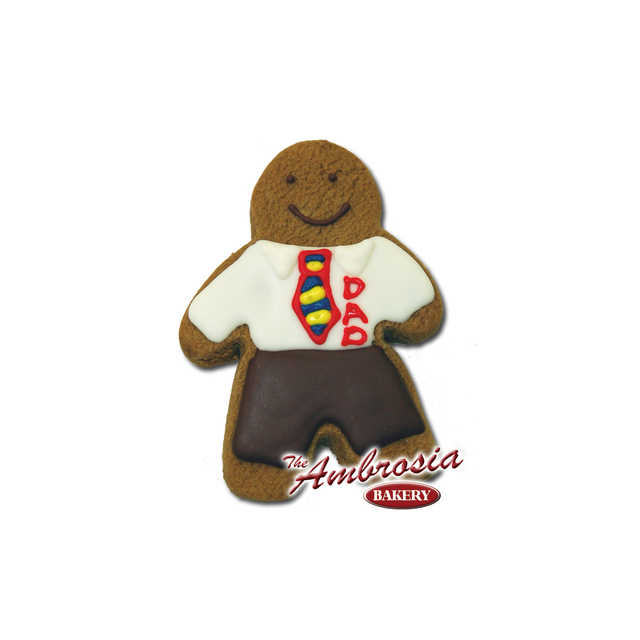 Decorated Gingerbread DAD!