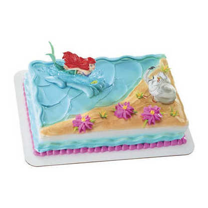 Disney Little Mermaid Ariel and Scuttle