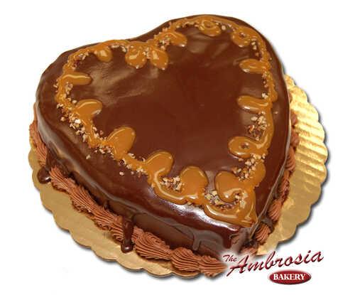 Heart Shaped Turtle Cake