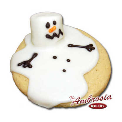 Melted Frosty Cut-Out Cookie