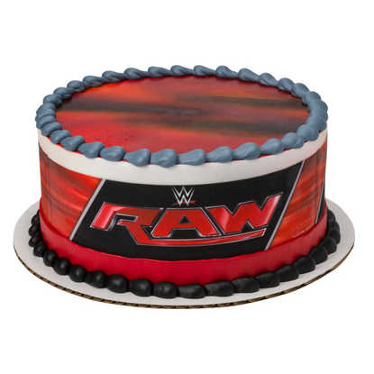 WWE Raw PhotoCake® Image Strips