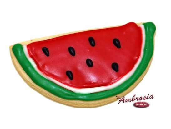 Watermelon Cut-Out Cookie