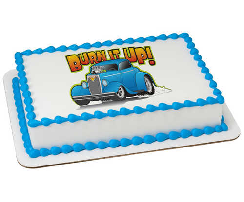 Hot Rod Car PhotoCake® Edible Image®