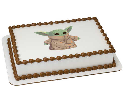 Disney - Star Wars™ The Mandalorian The Child PhotoCake® Edible Image®